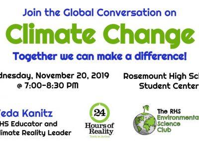Image - Climate Change Talk - 2019 Nov 20