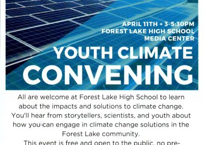 Youth Climate Convening