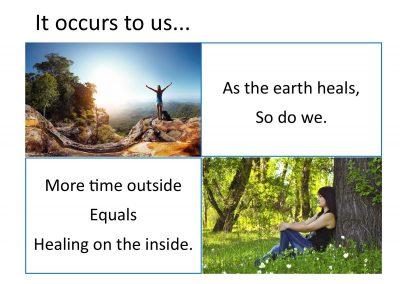 Flyer - Earth Heals & We Heal